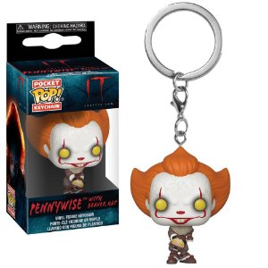 Chaveiro Pocket Pop - Pennywise (Beaver Hat) - IT