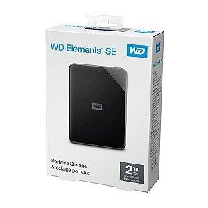 HD Externo 2TB USB 3.0 WD Elements Portátil