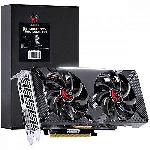 Placa de Vídeo Pcyes Geforce GTX 1660 Dual, 6GB GDDR5, 192Bit