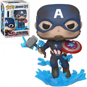 Boneco Funko Avengers #573 - Captain America