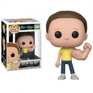 Boneco Funko - Sentient Arm Morty #340 Rick and Morty