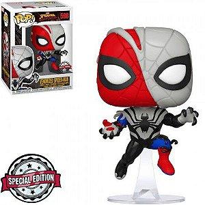 Boneco Funko Spider-Man Maximum Venum  #598 - Venomized Spider-Man