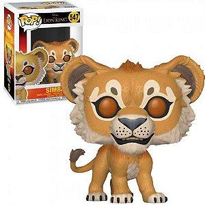 FUNKO POP #547 - SIMBA DISNEY LION KING