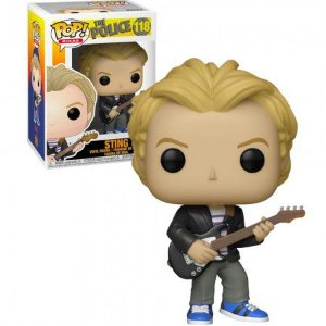 Boneco Funko Pop The Police #118 - Sting