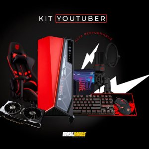 PC Gamer Yotuber - RTX 2060 6GB GDDR 6 - I7 9700KF - 16 GB DDR 4 - HD 1TB - SSD 240GB
