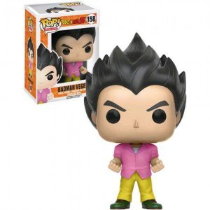 Boneco Funko Dragon Ball Z #158 - Badman Vegeta