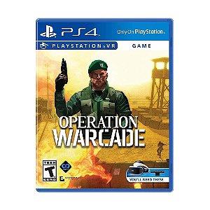 Jogo Operation Warcade - PS4 VR