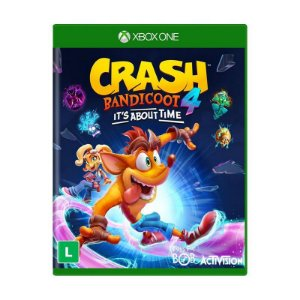 Jogo Crash Bandicoot 4: It's About Time - Xbox One (Pré-venda)