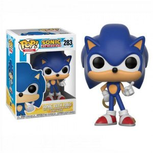 Boneco Funko Sonic the Hedgehog #283 - Sonic with Ring