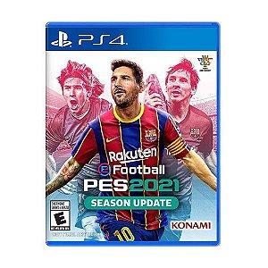 Jogo eFootball Pro Evolution Soccer 2021 (PES 21) Season Update - PS4