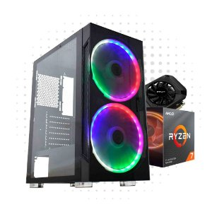PC Gamer Power 2 - RX 580 8GB DDR 5 - Ryzen 7 3700X - 8 GB DDR 4 - HD 1TB - SSD 240GB