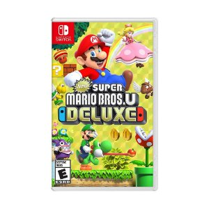Jogo Super Mario Bros.u Deluxe - Switch