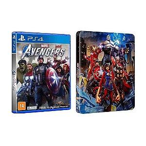 Jogo Marvel's Avengers (Steelbook) - PS4