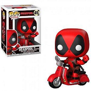Boneco Funko Pop Deadpool #48 - Deadpool on Scooter