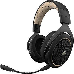 Headset Gamer Corsair HS70 SE (Wireless 7.1 Surround Preto/Creme)