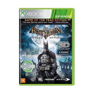 Jogo Batman Arkham Asylum (Game of The Year Edition) - Xbox 360