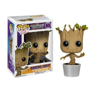 Boneco Funko Guardians of the Galaxy #65 - Dancing Groot