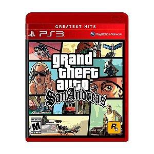 Jogo GTA San Andreas - PS3