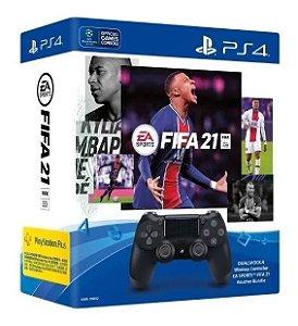 Controle Sem fio Dualshock 4 FIFA 21 - PS4