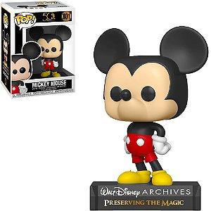 Boneco Funko Pop Disney Archives 50th Anniversary #801 - Mickey Mouse