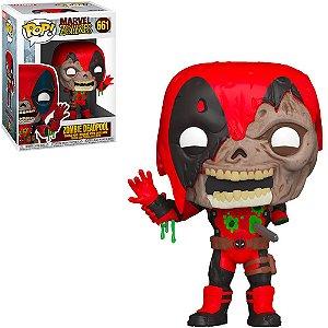 Boneco Funko Pop Marvel Zombies #661 - Zombie Deadpool