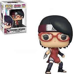 Boneco Funko Pop Naruto #672 - Sarada Uchiha
