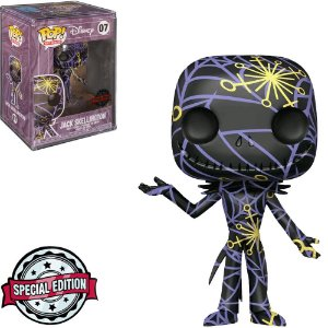 Boneco Funko Pop Disney #07 -  Jack Skellington