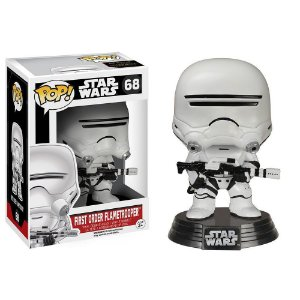 Boneco Funko Pop Star Wars #68 - First Order Flametrooper