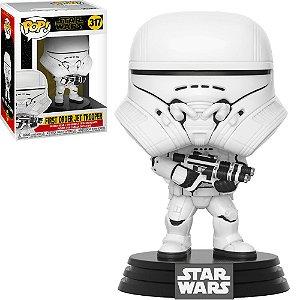 Boneco Funko Star Wars #317 - First Order Jet Trooper