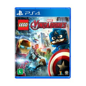 Jogo Lego Marvel Vingadores - PS4