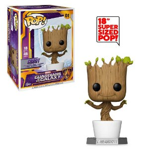 Boneco Funko Pop Guardians of the Galaxy #01 - Groot