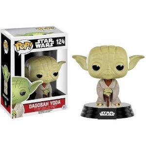 Boneco Funko Pop Star Wars #124 - Dagobah Yoda
