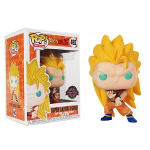 Boneco Funko Dragon Ball Z #492 - Super Saiyan 3 Goku