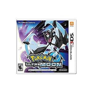 Jogo Pokémon Ultra Moon - 3DS