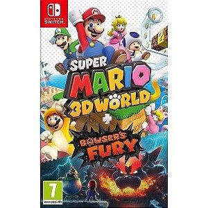 Jogo Super Mario 3D Worlds + Bowser Fury - Nintendo Switch