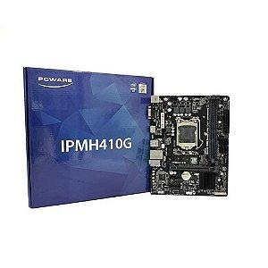 Placa-mãe Micro Atx Pcware Intel Ipmh410g - Lga 1200-10ª Geração Vga/hdmi/usb 3.0