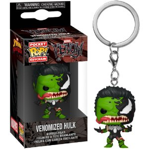 Chaveiro Pocket Pop - Venomized Hulk