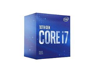 Processador Intel Core i7-10700F, Cache 16MB, 2.9GHz, LGA 1200