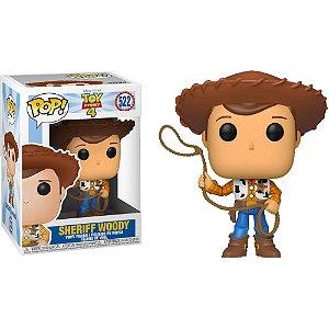 Boneco Funko #522  Sheriff Woody - Toy Story