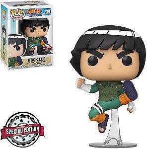 Boneco Funko Naruto Shippuden #739 - Rock Lee