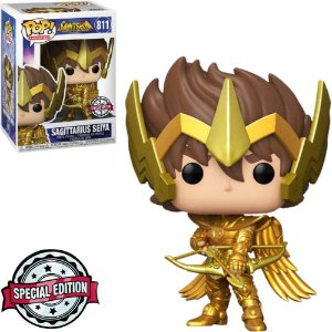 Boneco Funko Pop Sagittarius Seiya #811 - Saintseiya Knights Of The Zodiac
