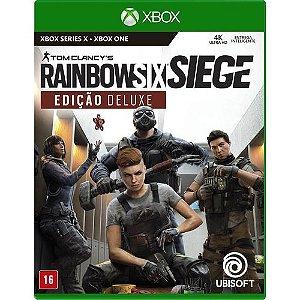 Jogo RainbowSix: Siege Edição Deluxe   - Xbox One/Series X