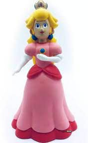 Boneco Colecionável Super Mario - Princesa