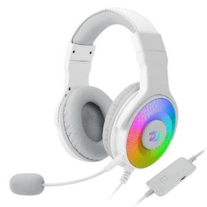 Headset Gamer Redragon Pandora com Microfone Branco - Redragon