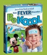 Be Koool Kids - Soft Gel para alívio da febre c/ 4