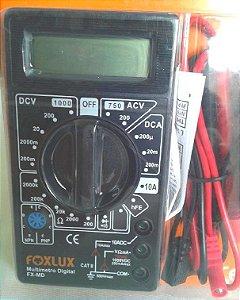 Multímetro Digital Modelo FX-MD