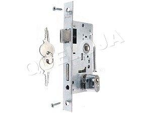 Fechadura Mecanismo 40 mm Com Miolo Cilindro Externa Stam de Porta de Madeira Casa