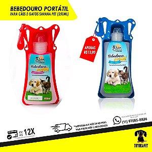 Bebedouro Portátil - 250ml - Savana Pet