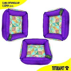 Cama Pet Retangular com Zíper - Tam (P)