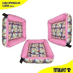 Cama Pet Retangular com Zíper - Tam (G)
